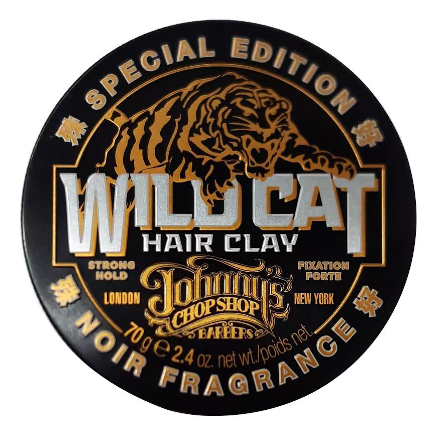 Купить Матирующая глина для структурирования волос Wild Cat Hair Clay 70г: Глина 70г, Johnny's Chop Shop