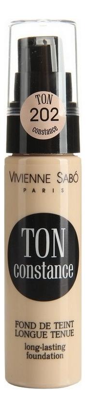 Устойчивый тональный крем Ton Constance Fond de Teint Longue Tenue 25мл: No 202