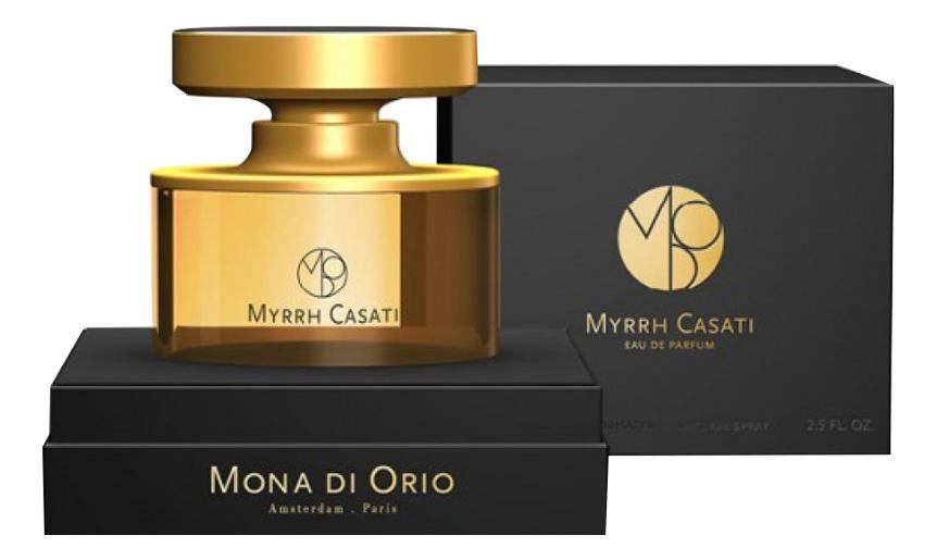 Фото - Mona di Orio Myrrh Casati: парфюмерная вода 75мл mona di orio myrrh casati
