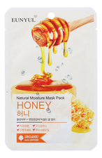 EUNYUL Тканевая маска для лица с экстрактом меда Natural Moisture Mask Pack Honey 23мл