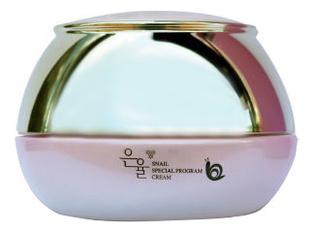 Антивозрастной крем для лица с муцином улитки Snail Special Program Cream 50мл недорого