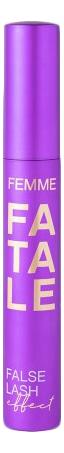 Тушь объемная с эффектом накладных ресниц Femme Fatale Mascara Volumateur Effet Faux Cils 9мл