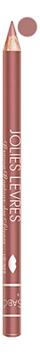 Карандаш для губ Jolies Levres Crayon Contour Des Levres 1,4г: No 103 карандаш для губ estrade contour des levres 3 мл