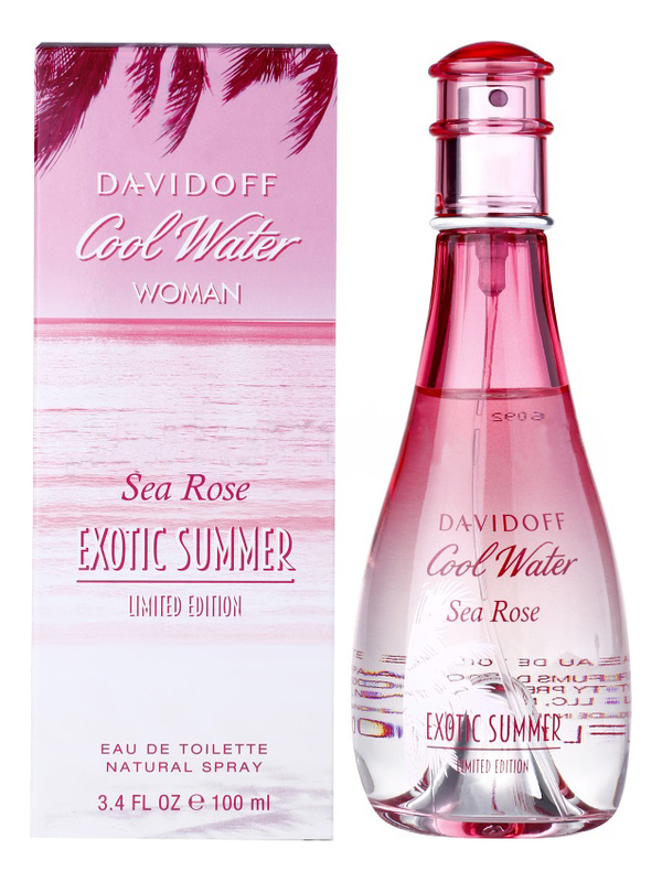 Davidoff Cool Water Sea Rose Exotic Summer: туалетная вода 100мл