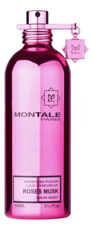 Montale Roses Musk: парфюмерная вуаль для волос 100мл montale intense roses musk туалетные духи 50 мл