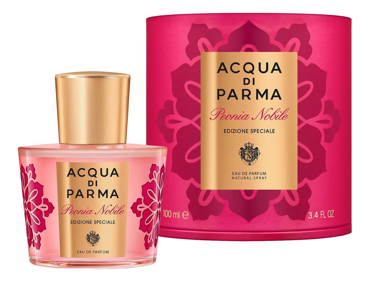 Acqua di Parma Peonia Nobile Edizione Speciale: парфюмерная вода 100мл acqua di parma rosa nobile парфюмерная вода