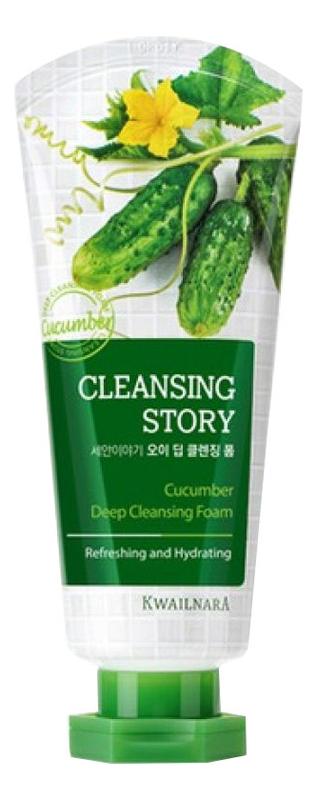 Купить Пенка для умывания Cleansing Story Foam Cleansing Cucumber 120г, Welcos