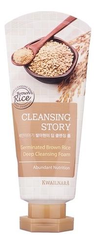 Купить Пенка для умывания Cleansing Story Foam Cleansing Germinated Brown Rice 120г, Welcos