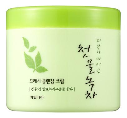 Купить Очищающий крем для лица Green Tea Fresh Cleansing Cream 300г, Welcos