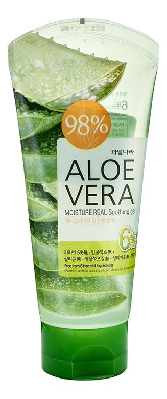 Гель для тела успокаивающий Body Phren Aloe Vera Moisture Real Soothing Gel 150г: Гель 150г
