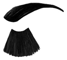 Краска для бровей и ресниц Only Looks 80мл: 601 Черная