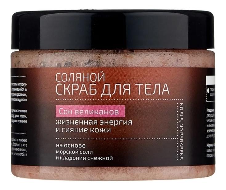 Купить Скраб соляной для тела Cон великанов Natura Kamchatka 300мл, Natura Siberica