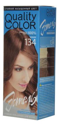 Стойкая гель-краска для волос Vital Quality Color: 134 Коньяк краска для волос tints of nature стойкая гель краска