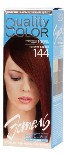 Стойкая гель-краска для волос Vital Quality Color: 144 Красное дерево стойкая крем краска фитокосметик fitocolor для волос 5 6 красное дерево 125мл