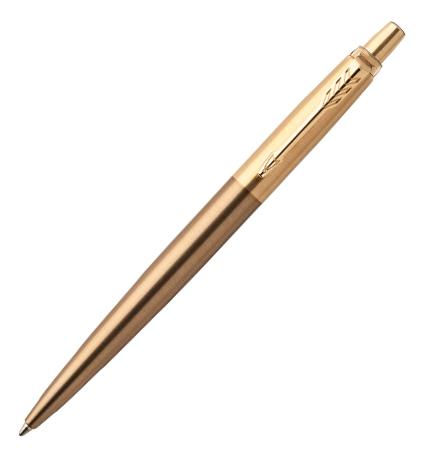 Шариковая ручка Jotter Premium West End Gold Brushed (золотистая)