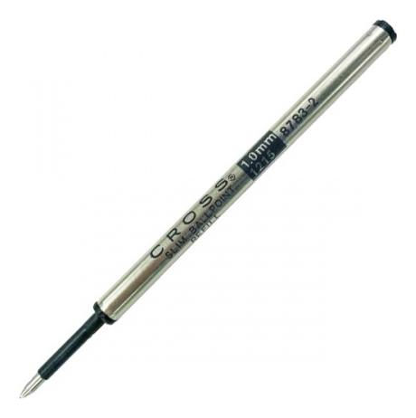 Стержень шариковый Cross для ручки Click, средний, черный; блистер