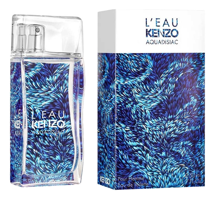 Купить L'Eau Kenzo Aquadisiac pour Homme: туалетная вода 50мл