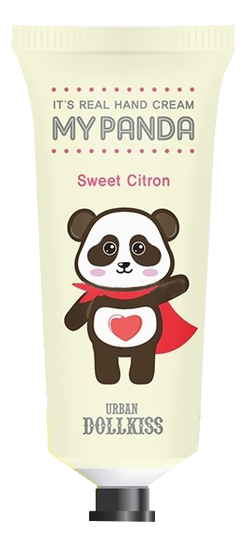 Крем для рук Urban Dollkiss It's Real My Panda Hand Cream Sweet Citron 30г фото