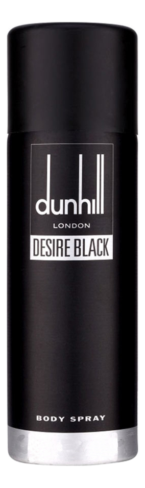 Alfred Dunhill Desire Black: спрей для тела 195мл alfred dunhill dunhill fresh