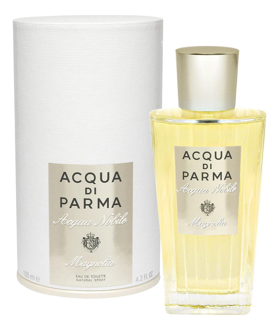 Acqua di Parma Acqua Nobile Magnolia: туалетная вода 125мл acqua di parma magnolia nobile парфюмерная вода 50мл