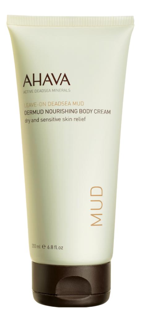 Питательный крем для тела Leave-On Deadsea Mud Dermud Nourishing Body Cream 200мл питательный крем для тела ahava deadsea mud dermud 200 мл