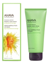 AHAVA Минеральный крем для рук Deadsea Water Mineral Hand Cream Prickly Pear & Moringa 100мл (опунция и моринга)