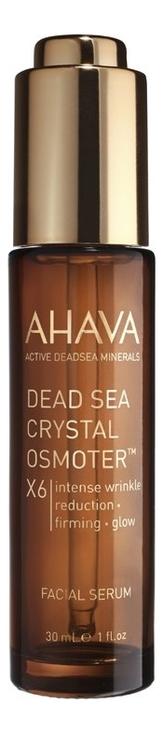 Купить Сыворотка для лица Супер сияние Dead Sea Crystal Osmoter X6 Facial Serum 30мл, AHAVA