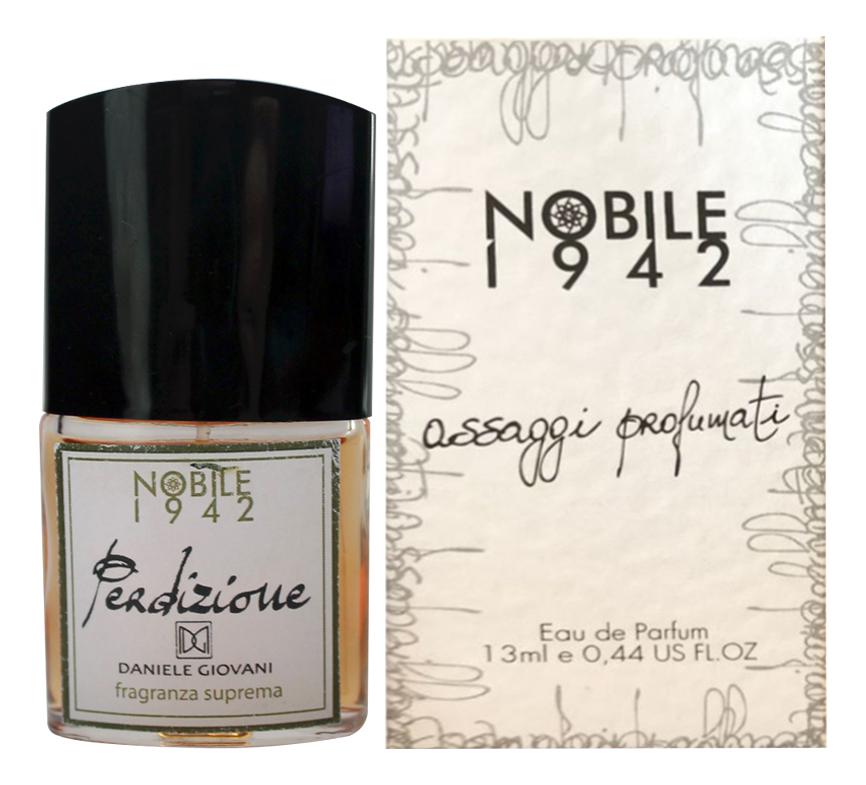 Купить Perdizione: парфюмерная вода 13мл, Nobile 1942