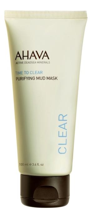 Очищающая грязевая маска для лица Time To Clear Purifying Mud Mask 100мл pixi glow mud маска очищающая грязевая glow mud маска очищающая грязевая