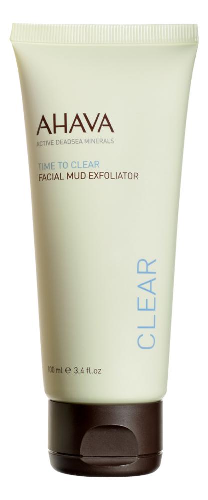 Грязевой пилинг для лица Time To Clear Facial Mud Exfoliator 100мл