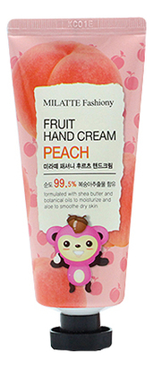 Крем для рук с экстрактом клубники Fashiony Fruit Hand Cream Strawberry 60г