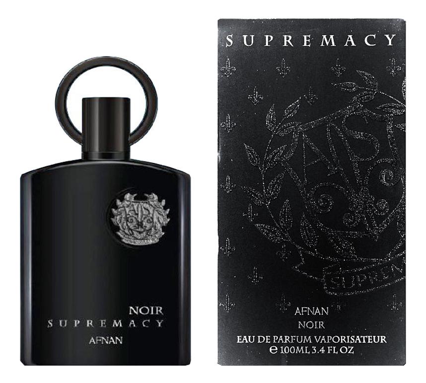 Afnan Supremacy Noir: парфюмерная вода 100мл