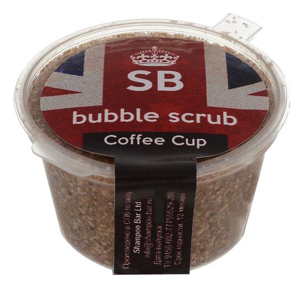 Кофейный скраб-пена для лица и тела Bubble Scrub Coffee Cup 40г