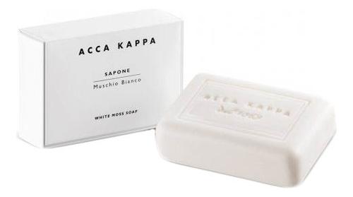 Купить Мыло туалетное Белый мускус White Moss Soap 100г, Acca Kappa