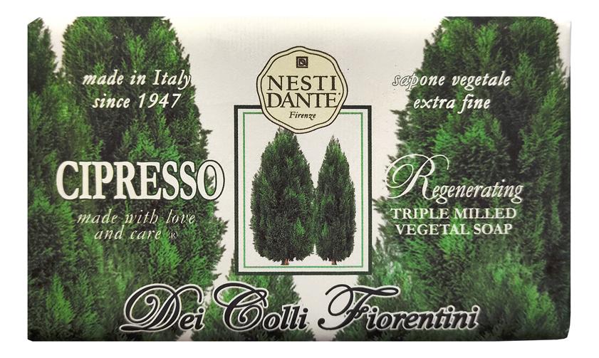 Мыло Dei Colli Fiorentini Regenerating Cipresso Soap 250г (восстанавливающий кипарис)