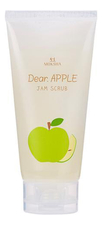 Gain Cosmetics Скраб для лица Moksha Dear Apple Jam Scrub 150мл (яблоко)