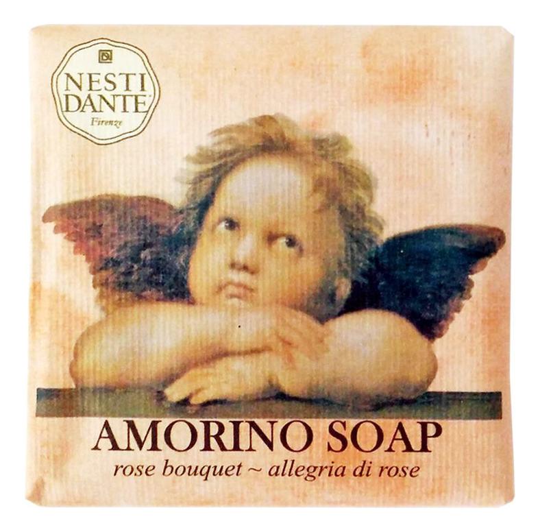 Мыло Amorino Rose Bouquet Soap 150г (букет роз)