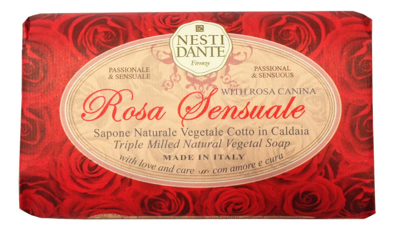 Мыло With Rosa Canina Rosa Sensuale Soap 150г (чувственная роза) william thackeray la rosa e l anello роза и кольцо