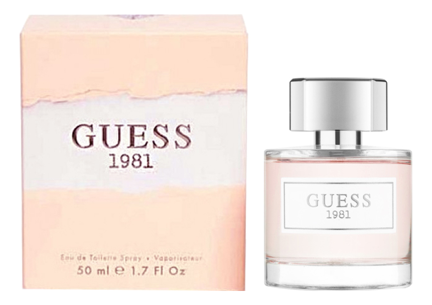Фото - Guess Guess 1981 : туалетная вода 50мл guess w54r20 z0vn0 996