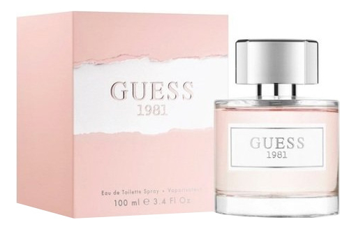 Фото - Guess Guess 1981 : туалетная вода 100мл guess w54r20 z0vn0 996