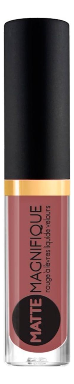 Матовая жидкая помада для губ Matte Magnifique Rouge a Levres Liquide Velours 3мл: No 219 губная помада vivienne sabo matte magnifique тон 214 d215232214