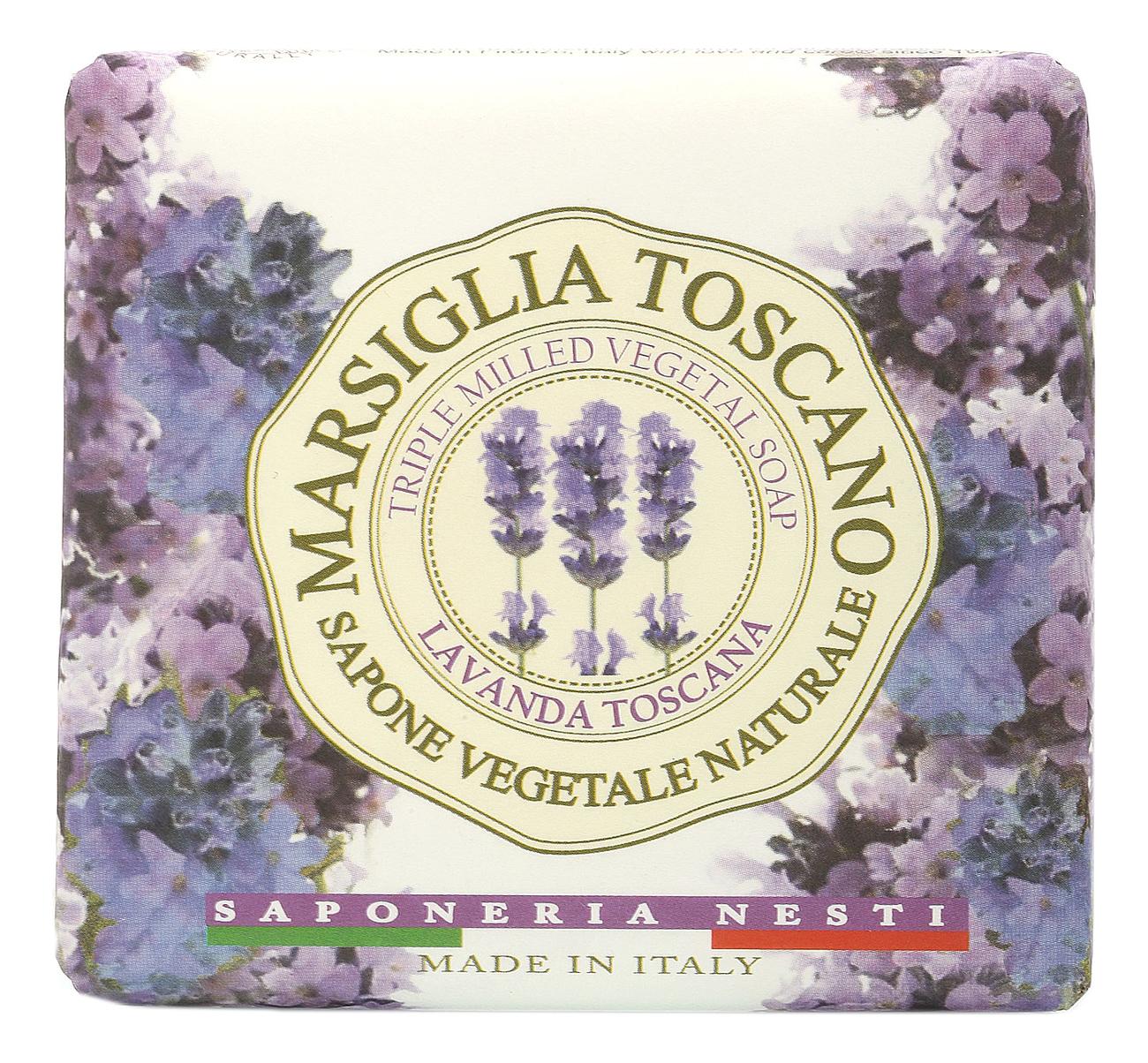Купить Мыло Marsiglia Toscano Lavanda Toscana Soap 200г (лаванда тоскана), NESTI DANTE