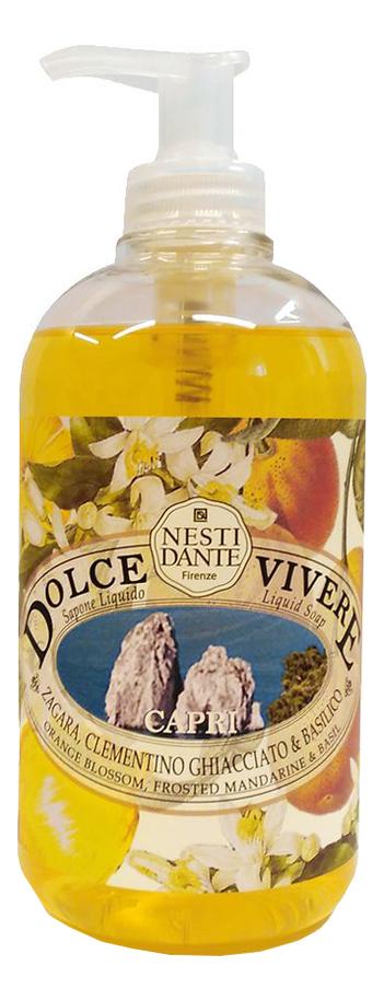 Купить Жидкое мыло Dolce Vivere Capri 500мл (Капри), NESTI DANTE