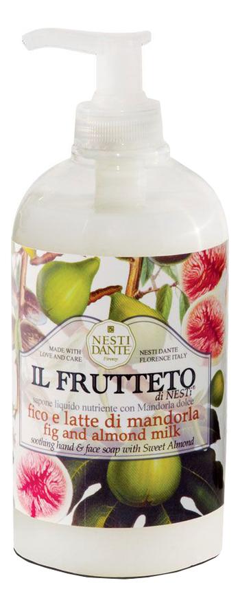 Фото - Жидкое мыло Il Frutteto Fig & Almond Milk 500мл (инжир и миндальное молоко) nesti dante fig and almond milk shower gel