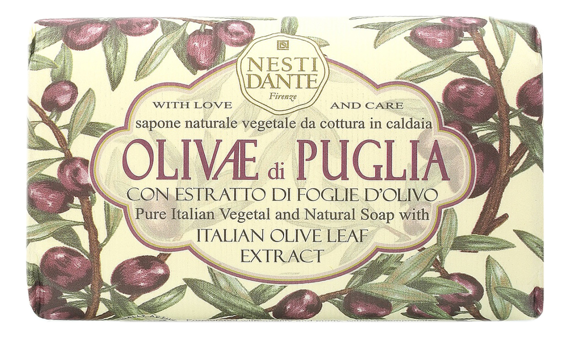 Мыло Olivae di Puglia Soap 150г (олива из Апулии) puglia l verbi italiani