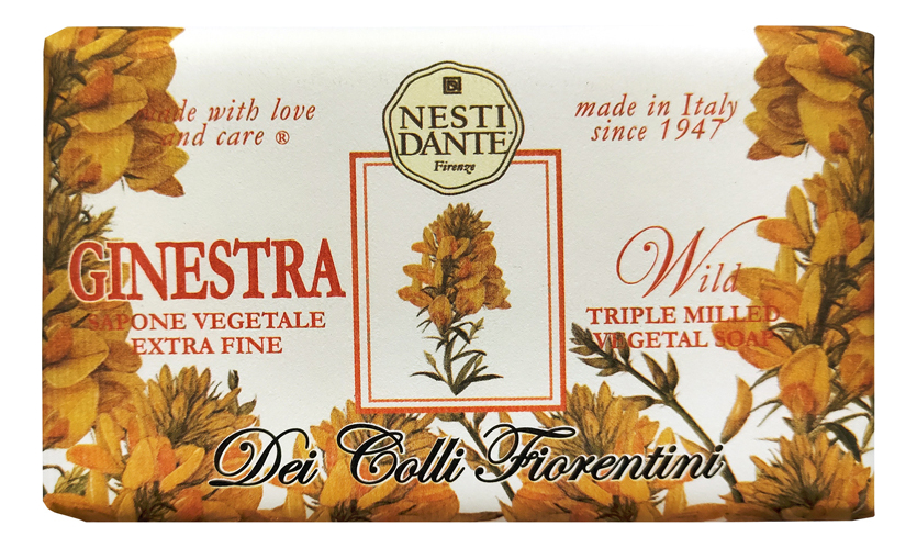 Мыло Dei Colli Fiorentini Passional Ginestra Soap 250г (страстный дрок)