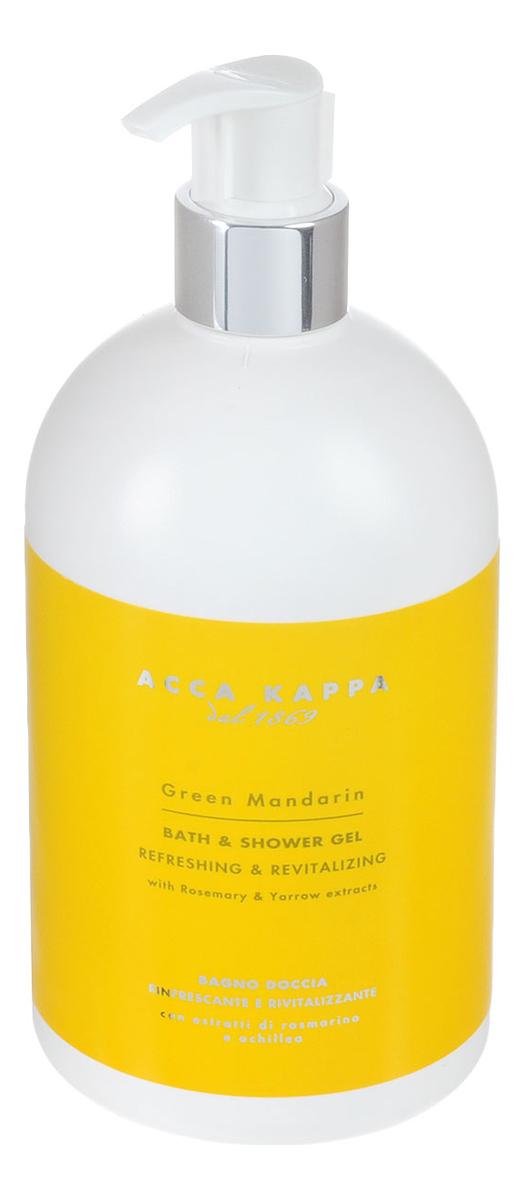 Купить Гель для душа и ванны Green Mandarin Bath & Shower Gel 500мл, Гель для душа и ванны Green Mandarin Bath & Shower Gel 500мл, Acca Kappa