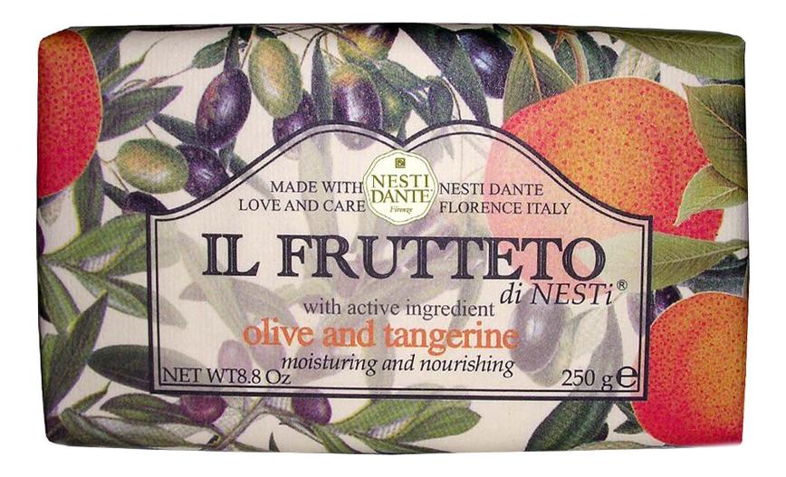 цена Мыло Il Frutteto Olive & Tangerine Soap 250г (оливковое масло и мандарин) онлайн в 2017 году