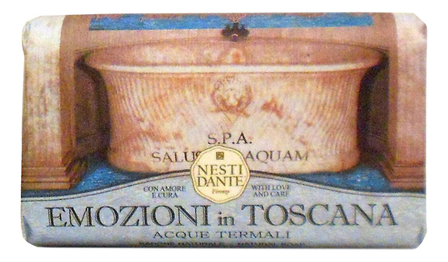 Мыло Emozioni In Toscana Thermal Acque Termali Soap 250г (термальные источники) цена 2017