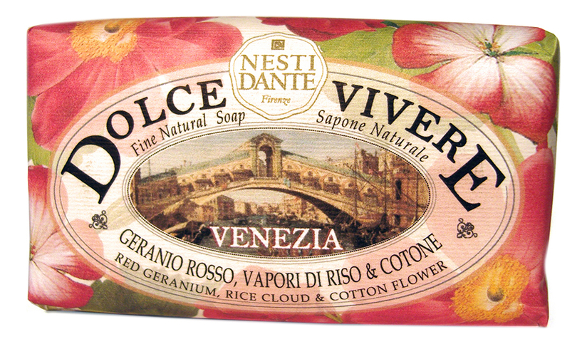 Купить Мыло Dolce Vivere Venezia Soap 250г (Венеция), NESTI DANTE